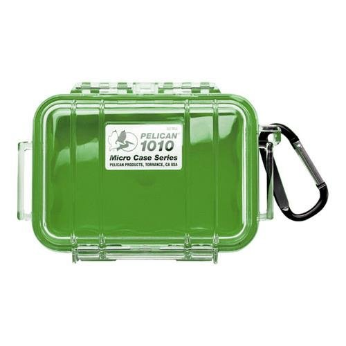 Pelican 1010 Micro Water/Crushproof Dry Box, 5.43x4.06x2.12in - Clear
