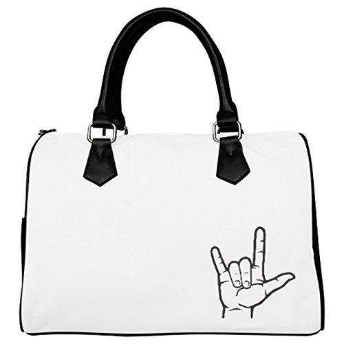 Jasonea Women Boston Handbag Top Handle Handbag Satchel Amazing Fractal Basad190078