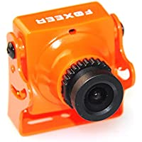 Crazepony Foxeer FPV Arrow Camera V2 600TVL NTSC 2.8mm Lens Sony Super Had II CCD IR Blocked with OSD AUDIO Orange for QAV Multicopter