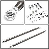 "NRG Innovations HBR-001TI 47"" Aluminum 4-Point"