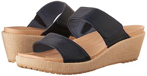 a2fe4181f73c Crocs Women s A-Leigh 2-Strap Mini Wedge - Import It All