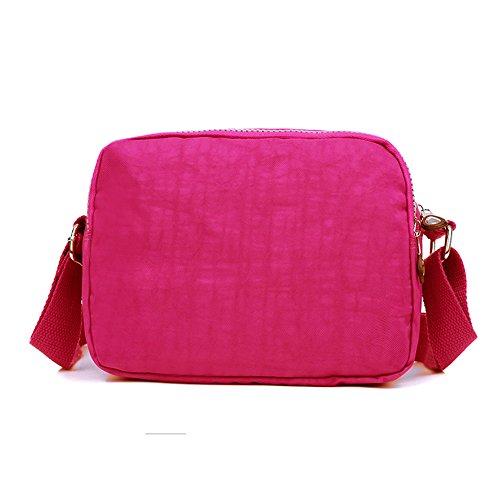 Bolso de BUY Lona Hot bandolera SUNRAY Pink Mujer Niñas td5Awq11WS