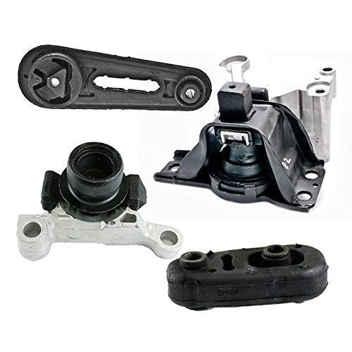 K2304 Fits 2007-2012 Nissan Sentra 2.0L w/AUTO CVT Motor & Trans Mount Set 4pcs : A4348, A4345, A4318, A4346