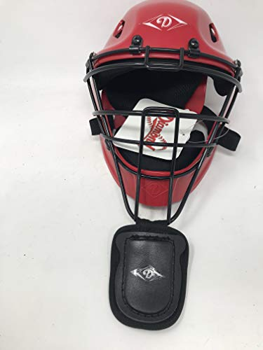 Diamond DCH-EDGE CX LG Edge Hockey Style Cather's Helmet Large Scarlet