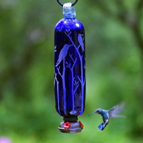 Parasol  FILTWB Filigree Twigs Hummingbird Feeder Blue (Filigree Feeder Hummingbird Parasol)