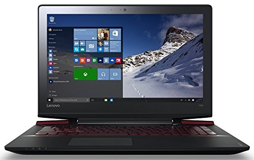 Lenovo Y700 15.6 Inch Full HD 1920 x 1080 Gaming Laptop PC, Quad-Core i7-6700HQ 2.6 GHz, NVIDIA GeForce GTX 960M, 16GB DDR4, 128GB SSD + 1TB HDD, 802.11ac WiFI, Bluetooth 4.0, DVD RW, Windows 10 Home
