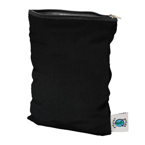 Planet Wise Wet Diaper Bag, Black, -
