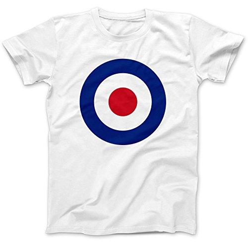 RAF Roundel Mod Target T-Shirt 100% Premium Cotton