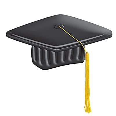 amscan Inflatable Graduation Cap | Party Favor: Toys & Games