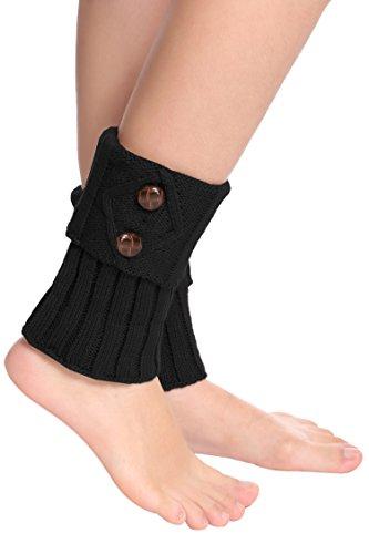 Kissgal Women Winter Leg Warmer Warm Crochet Knit