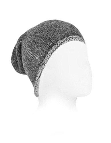 Warm Baby Alpaca Beanie Hat (Charcoal)