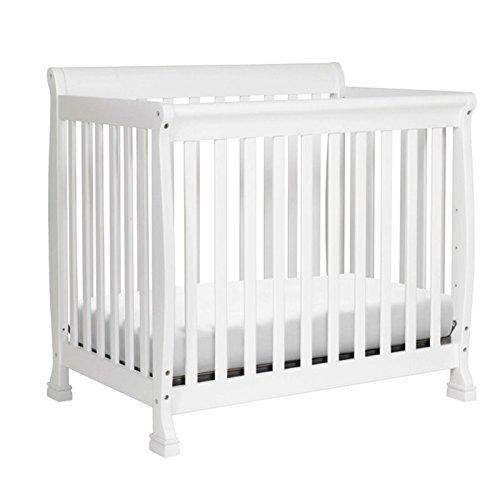 DaVinci Kalani 2-in-1 Mini Crib and Twin Bed In White Finish