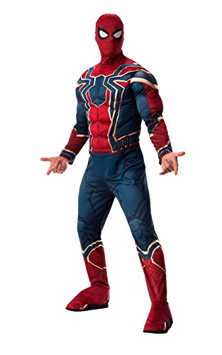 Rubie's Men's Marvel Avengers Infinity War Iron Spider-Man-Man Deluxe Costume, X-Large