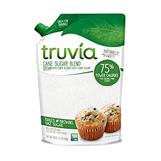 Truvia Cane Sugar Blend, Natural Stevia Sweetener and Cane Sugar, 24 oz
