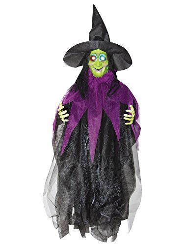 Sunstar Industries Inc. - 3' Hanging Light up Witch - Standard ()