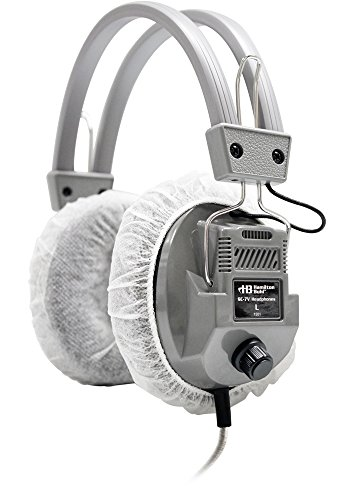 Hamilton Buhl HygenX Sanitary Ear Cushion Covers (4.5'' White, Master Carton - 600 Pairs - For Over-Ear Headphones & Headsets by Hamilton Buhl