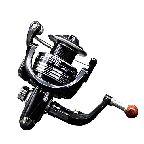 (HITSAN INCORPORATION New Type Fishing Reel Seven Models 1000-7000 Series 5.5:1 11BB Casting Precision Handle Fishing Sale Color Black Bearing Quantity 12 Spool Capacity 4000 Series )