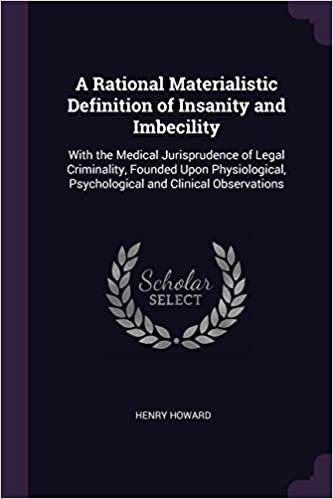 legal insanity and medical insanity