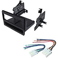 NISSAN FRONTIER PATHFINDER, PATHFINDER S , XTERRA 2005 2006 2007 CAR STEREO RADIO DASH INSTALLATION MOUNTING KIT W/ WIRING HARNESS RADIO ANTENNA ADAPTER