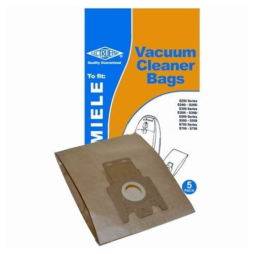 Type: E Includes 5x Dust Bags Type: E - Miele Pack of 5 Miele E Paper Bags