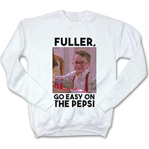 (Fluffy Crate Fuller, Go Easy On The Pepsi Ugly Christmas Sweatshirt | Holiday Movie Apparel)