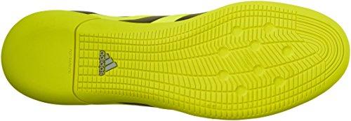 Adidas Performance As 16,3 Primesh cubierta de zapatos de fútbol, â??â??choque Verde / shock rosa / Solar Yellow/Black/Metallic Silver