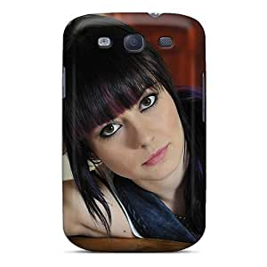 Hot Snap-on Perfect Girl Face Hard Cover Case/ Protective Case For Galaxy S3