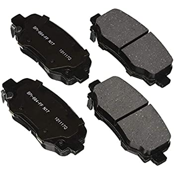 ACDelco 17D1640CH Professional Ceramic Front Disc Brake Pad Set