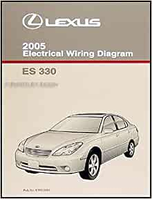 2005 lexus es 330 wiring diagram manual original lexus. Black Bedroom Furniture Sets. Home Design Ideas