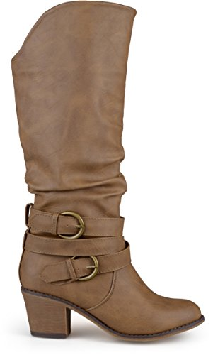 Brinley Co Women's Early Western Boot Taupe