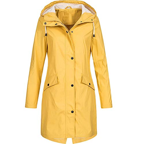Toimoth Women's Lightweight Rain Jacket Active Outdoor Waterproof Windproof Packable Hooded Raincoat ()