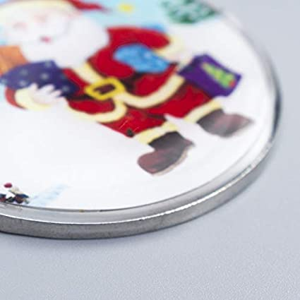 Llavero de Metal con diseño navideño: Amazon.es: Equipaje