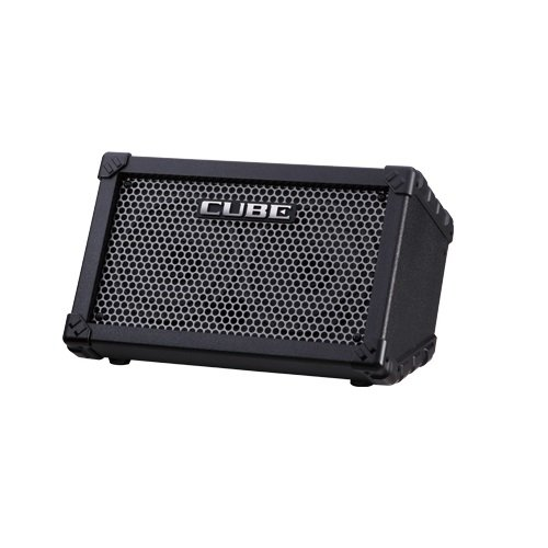Roland CUBE Street Battery Powered Stereo Guitar Combo Amp Black (Black)