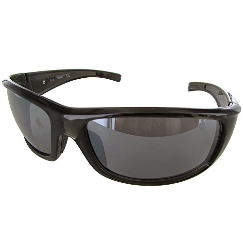 Timberland  Men's TB7127 Grey/Other/Smoke Mirror One - Sunglasses Mens Timberland
