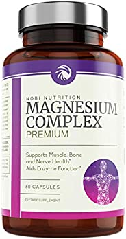 Nobi Nutrition High Absorption Magnesium Complex - Premium Magnesium Supplement for Sleep, Stress & Anxiet