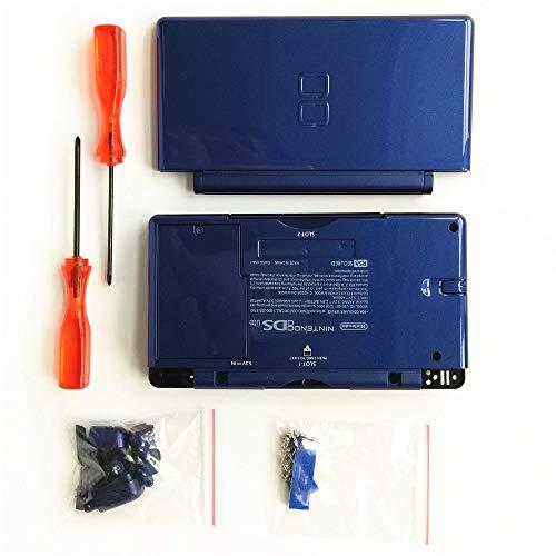 FidgetKute Replacement Blue Housing Shell Case Kit for DS Lite, NDSL DSL Casing Repair Part