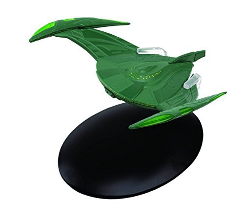 - Star Trek Starships Figurine Collection Magazine #27 Romulan Bird of Prey