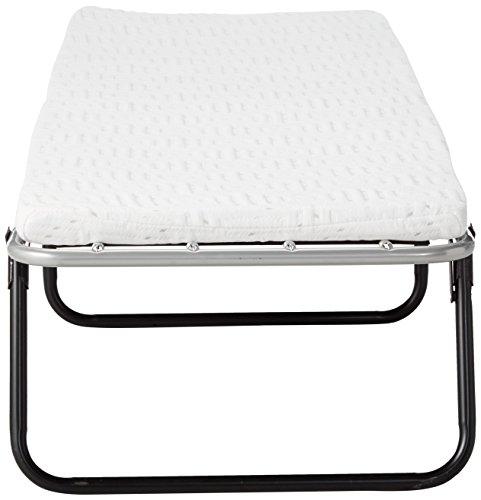 Broyhill Foldaway Guest Bed: Folding Steel Frame with Gel Memory Foam Mattress, 2