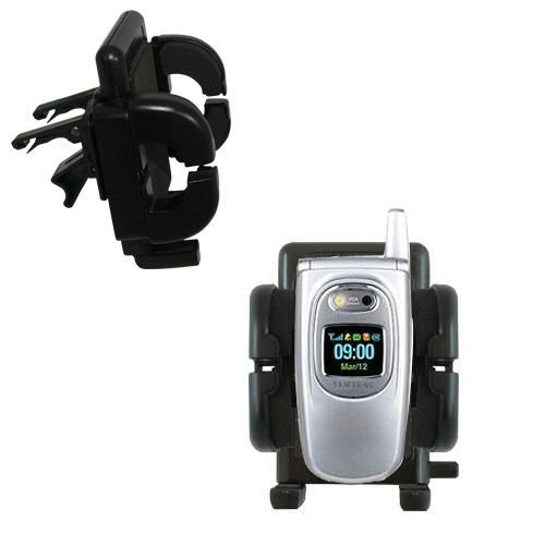Gomadic Air Vent Clip Based Cradle Holder Car / Auto Mount suitable for the Samsung SGH-P510 (Car P510)