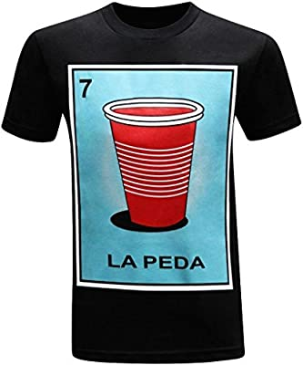 La Peda Mexican Hispanic Latino Men's Funny T-Shirt