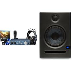 PreSonus iTwo Studio Recording Kit and Eris E5 Studio Monitor (Pair) Bundle