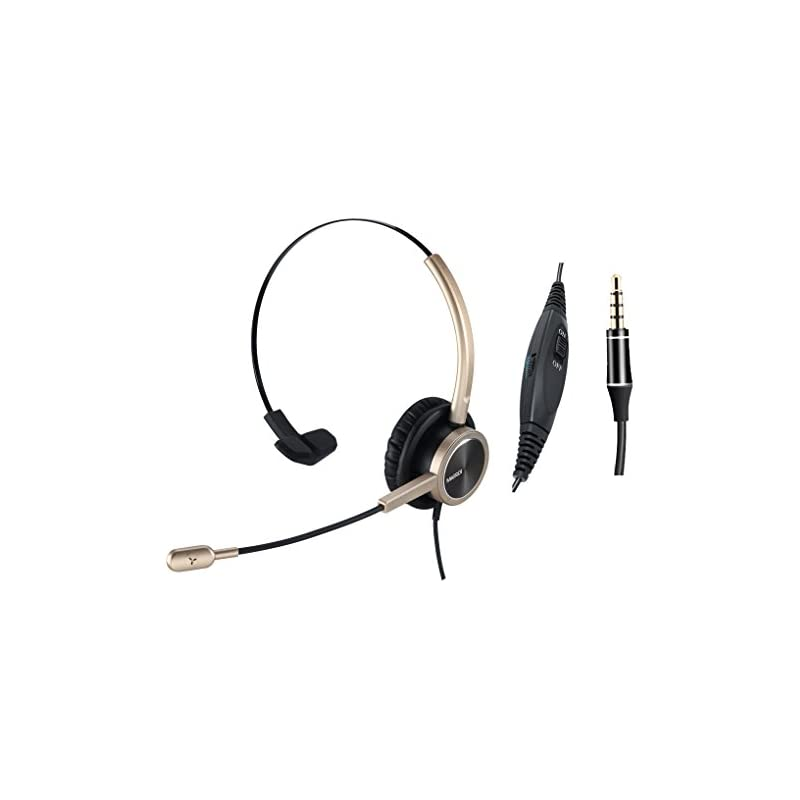 MAIRDI Headset for Cell Phone with Nosie