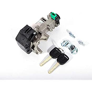 ignition switch cylinder lock auto trans with chip 2 keys for 2003 2007 honda accord. Black Bedroom Furniture Sets. Home Design Ideas
