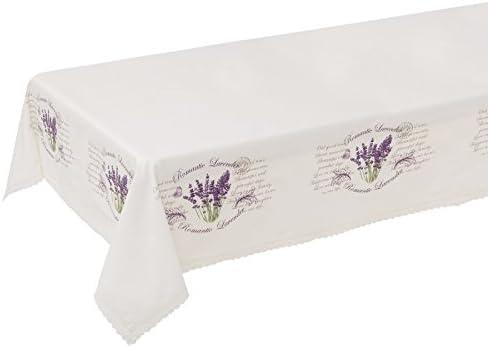 Dcasa - Mantel mesa provenzal lila lavanda 148x200 cm: Amazon.es ...