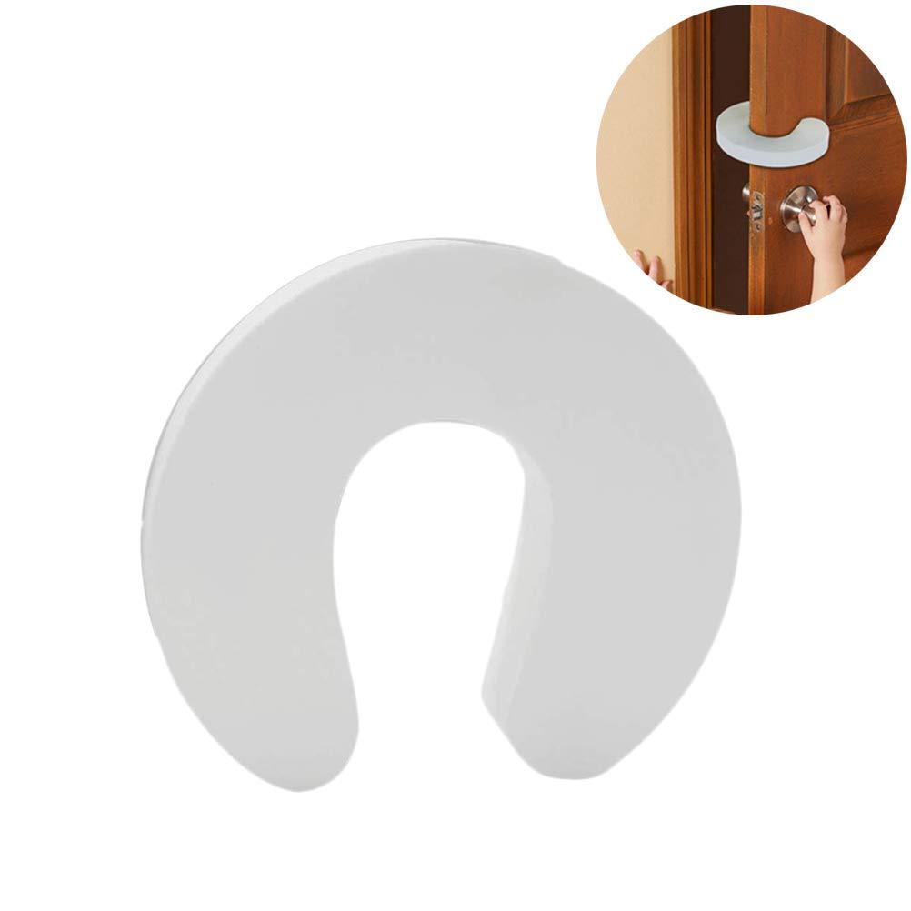 protecci/ón de Trampa de Dedos de Espuma para beb/és para Puertas y Ventanas Anewu Tope de Puerta de Espuma Protectores de Dedos de Seguridad 6 Piezas Tope de Puerta para ni/ños