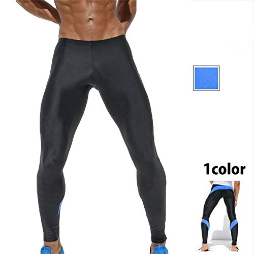 Sport Fonctionnel De Slip Caleçon Homme Style Pantalon Bodybuilding Simple Course Pantalons Crystallly D'entraînement Thermo Fitnessshopping Saphirblau Legging Collants Vélo Lang 4W68A