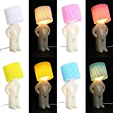 Night Lights - Shy Man Small Led Night Lights Table Lamp Desktop Light Home Decoration Eu Plug - Adults Light Dawn Different Touch Emergency Ariel And Bluetooth James