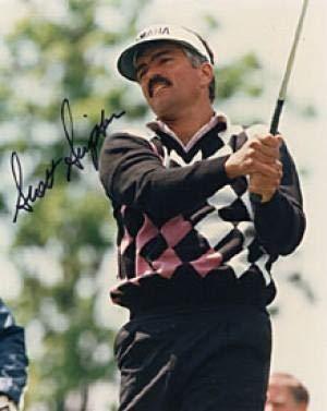 Autographed Scott Simpson Photo - 8x10 - Autographed Golf - Photo Scott Simpson