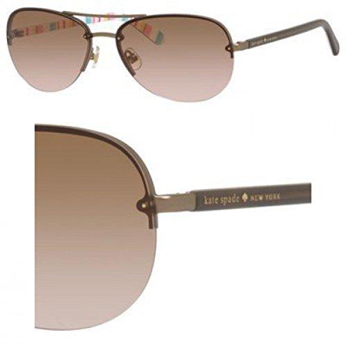 Sunglasses Kate Spade Beryl/S 0RUG Brown Multi / WI brown pink gradient lens