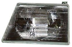 TYC 20-3075-90 Ford Econoline Driver Side Headlight (E-150 Econoline Club Wagon Fender)